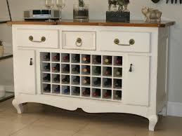buffet server with wine storage latest furniture of america