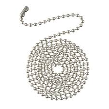 How To Fix Ceiling Fan Pull Chain For Light Westinghouse Lighting 3 U0027 Ni Beaded Chain Ceiling Fan Pull Chains