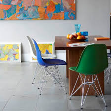 Colored Dining Chairs Unique Colorful Dining Chairs For Home Design Ideas With Colorful