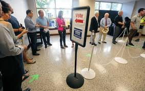 wake county elections 2018 voting maps for board
