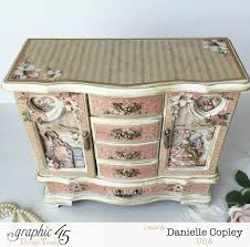 stores that sell jewelry armoire graphic 45 gilded lily altered jewelry armoire scrapbook maven
