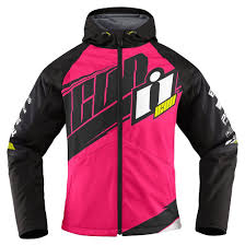 motorcycle racing jacket 97 44 icon womens team merc armored hooded softshell 204612