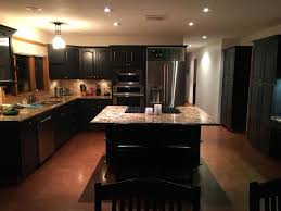 how to paint oak cabinets black black oak cabinets painting guys