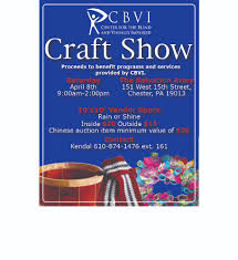 Services For The Blind And Visually Impaired Center For The Blind And Visually Impaired Craft Show Fundraiser
