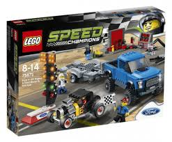 Leclerc Remorque by Lego Speed Champions 75875 Pas Cher Ford F 150 Raptor Et Le