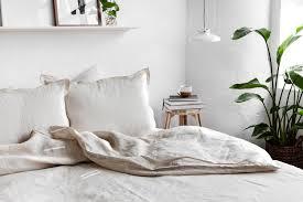 100 white linen bedding pure genuine european linen bedding