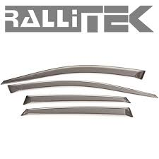 Exterior Door Rain Deflector by Subaru Oem Rain Guards Sti U0026 Wrx 2008 2014 More Rallitek Com