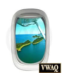 flying plane islands window decal vinyl airplane window decals