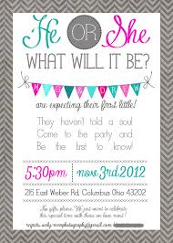 gender reveal invitation template how to properly throw a gender reveal party megan danser