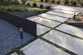 paver stone patio ideas patio rustic with border plantings deck