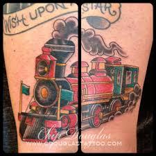 train tattoo chip douglas