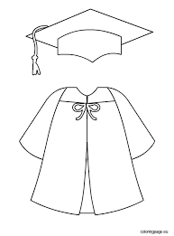 cap and gown for preschool capped clipart preschool graduation pencil and in color capped