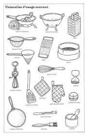 glossaire de cuisine ustensiles de cuisine imagiers ustensile de cuisine