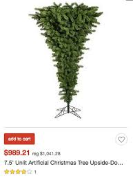 where to get upside down christmas trees they are trendy and