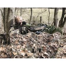 Reflective Deer Blind Ghostblind 6 Panel Runner Run N Gun Hunting Blind 221484 Ground