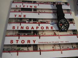 living the singapore story by the singapore times press book