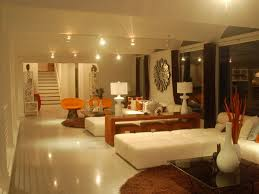 Basement Room by Pleasing Basement Room Design Ideas With L Shape Sectional Sofa On