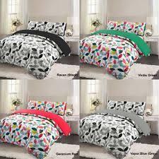 Brushed Cotton Duvet Covers Flannelette Duvet Cover Ebay