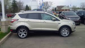 Ford Escape Colors - new colour on 2017 ford escape is white gold take a look youtube