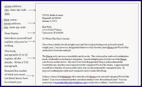 Business Letter Format For Request Business Letter Reference Sheet Docx Betterlesson