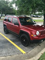 maroon jeep 2017 2012 jeep patriot lifted atx projects to try pinterest
