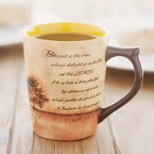 Housewarming Gift Ideas For Guys by Blessed Is The Man Psalm 1 1 3 Classic Christian Mug Dayspring