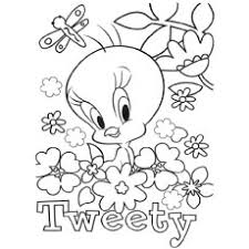 lovely tweety bird coloring unique tweety bird coloring pages