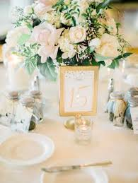 gold wedding table numbers classic glam west hollywood wedding hollywood wedding west