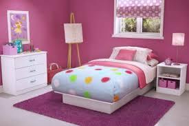 purple girls room with wood floor comfy home design