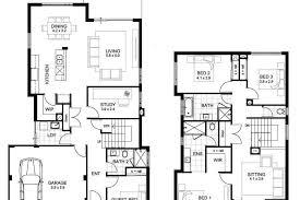floor plans 2 story homes sle floor plans 2 story home unique double storey 4 44x30 sle