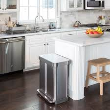 need a large capacity smart looking kitchen recycling bin