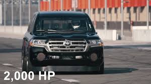 lexus lx 570 review team bhp toyota land speed cruiser 2 000 hp 220mph youtube