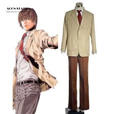 Light Halloween Costumes Cheap Light Yagami Costume Aliexpress Alibaba Group
