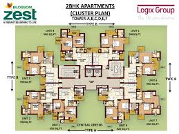 cluster home floor plans 28 images overview privvy the address cluster home floor plans blossom zest sector 143 noida studio and 2bhk apartments
