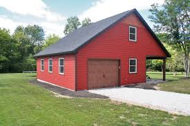 Red Barn Kennel Siding Dexter Roof U0026 Siding