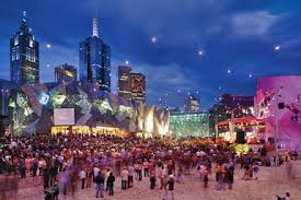 federation square what u0027s on city of melbourne