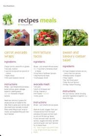 raw food reset 21 day raw cleanse meal plan meals food and