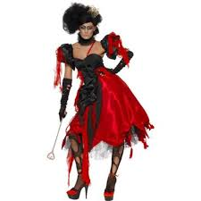red ladies horror queen of hearts halloween costume 23020