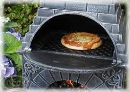 Chiminea With Pizza Oven Castmaster Outdoor Garden Cast Iron Pizza Oven Chiminea Large Xl