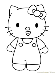 color kitty coloring