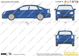 opel vectra 2004 the blueprints com vector drawing opel vectra gts