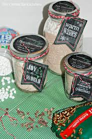 hot chocolate gift hot chocolate mix and free printable chalkboard gift labels