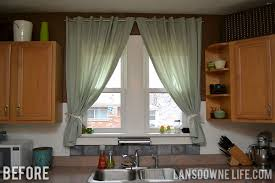 Curtains In The Kitchen Kitchen Update The Windows Lansdowne