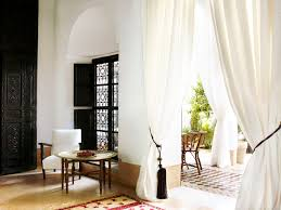 a romantic riad from uk designer jasper conran marrakech window