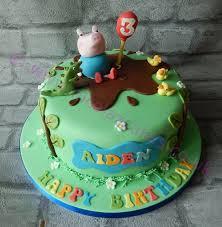 the 25 best george pig cake ideas on pinterest peppa pig