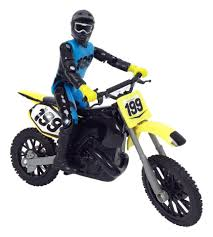 motocross push bike mxs moto xtreme sports series 9 diecast bike and rider with sound