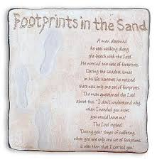footprints in the sand gifts religious footprints in the sand prayer wall plaque metal uk