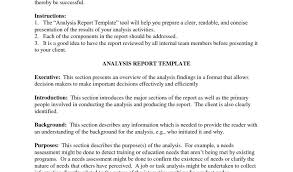 project analysis report template project report exle asafon ggec co