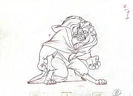 walt disney characters images walt disney sketches the beast hd
