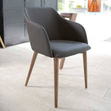 Grey Dining Chairs Contemporary Dining Room Furniture From Dwell - Grey dining room chairs